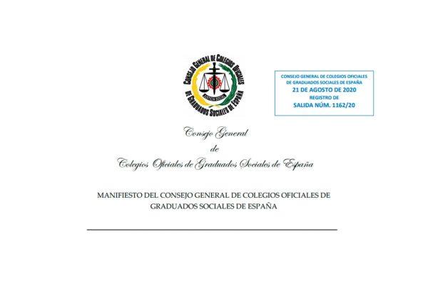 Manifiesto de los Graduados Sociales: 16 propuestas al gobierno para la gestión de los ERTE
