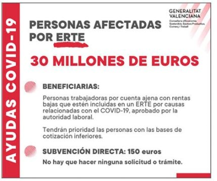 Información de la Generalitat