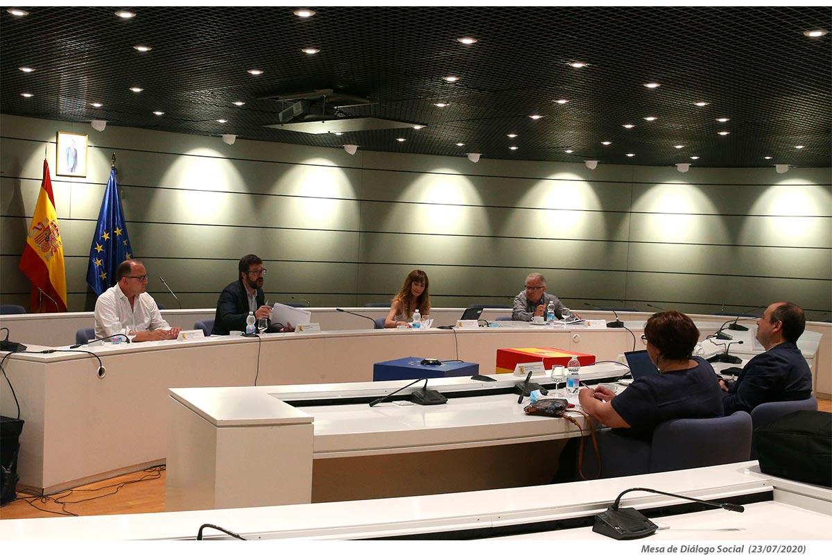 Negociaciones nuevo subsidio covid19 (mesa diálogo social)