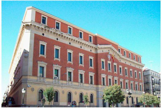 Sede del Tribunal de Cuentas en Madrid