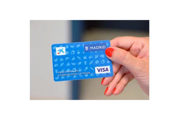 El ayuntamiento de Madrid entregará a familias necesitadas una tarjeta monedero con hasta 630 euros