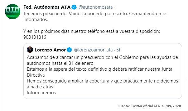 Comunicado ATA