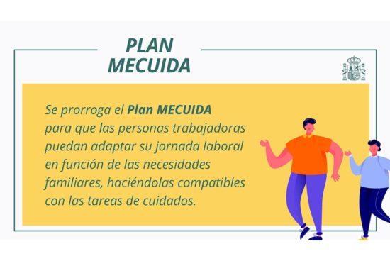 Prórroga plan MECUIDA hasta 31 de mayo