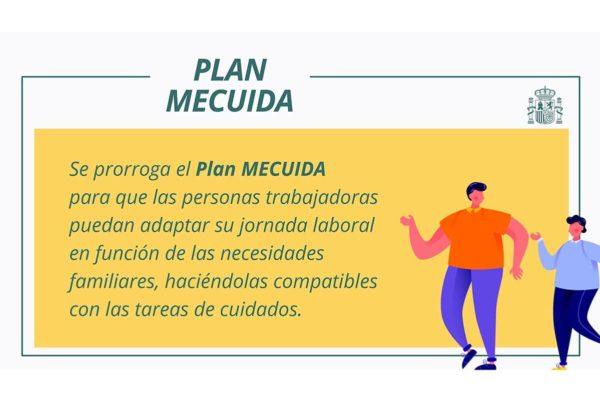 El Plan MECUIDA se amplía hasta el 31 de mayo