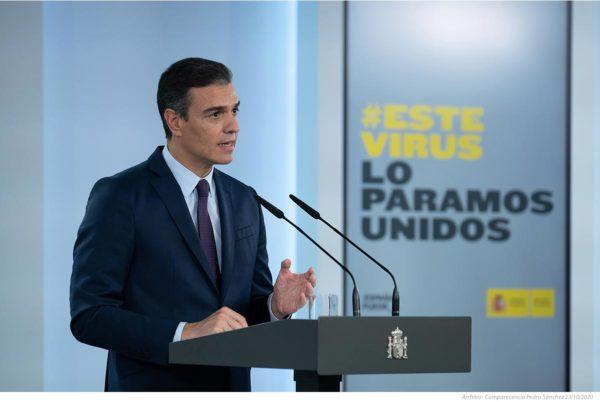 España vuelve al estado de alarma, con toque de queda nocturno durante 6 meses