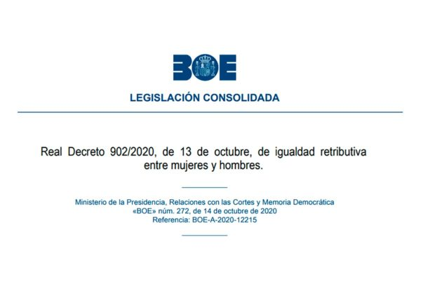"A partir de hoy ""se acabó la discriminación salarial en España por razón de sexo"""