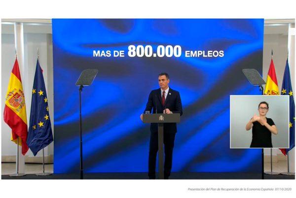 Pedro Sánchez se compromete a la creación de 800.000 puestos de trabajo en tres años