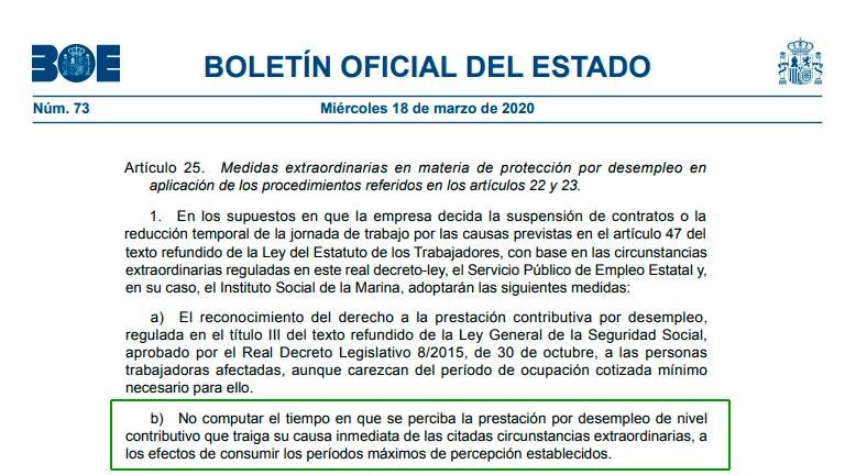 Artículo 25.1.b del Real Decreto-ley 28/2020