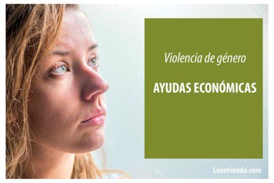 Ayudas económicas violencia de género
