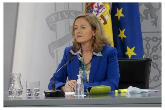 Ministra de Economía, Nadia Calviño