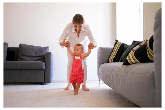 Madre en excedencia por cuidado de hijos
