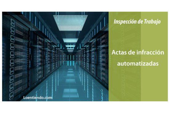 Actas de infracción automatizadas