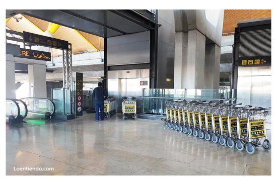 Aeropuertos vacíos en 2020