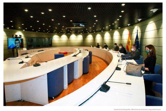 Reunión gobierno y representantes de autónomos