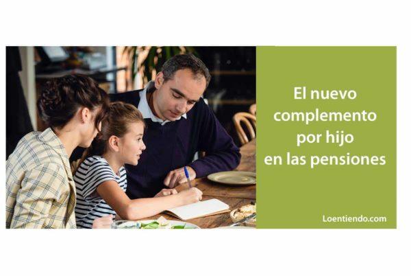 El nuevo complemento en las pensiones de 378 euros por hijo