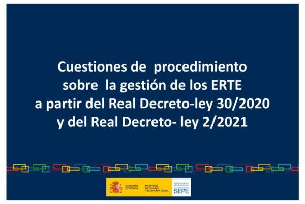 El SEPE actualiza su guía para empresas sobre el procedimientos en los ERTE