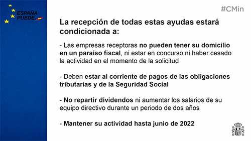 Requisitos acceso ayudas RDL 5/2021