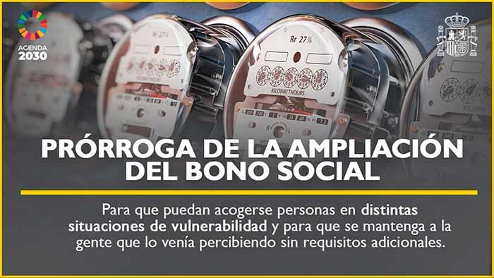 Ampliación del bono social electrico