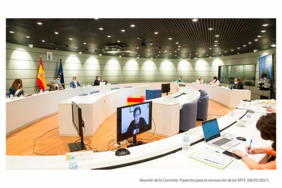 Comisión Tripartita para la renovación de los ERTE