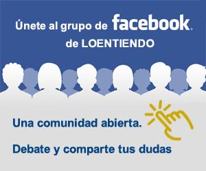 Únete al grupo de facebook de Loentiendo