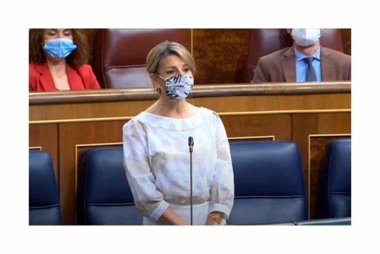 Yolanda Díaz Ministra de Trabajo