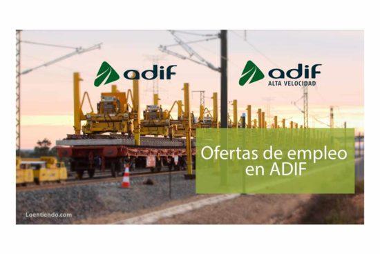 Ofertas de empleo en ADIF