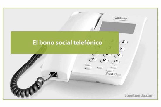 Bono social telefónico