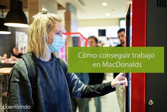Encontrar trabajo en MacDonalds