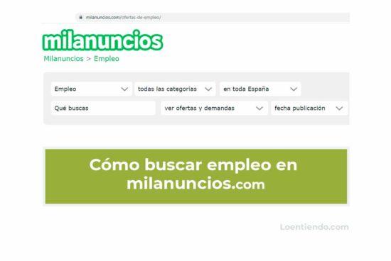 portal web milanuncios.com
