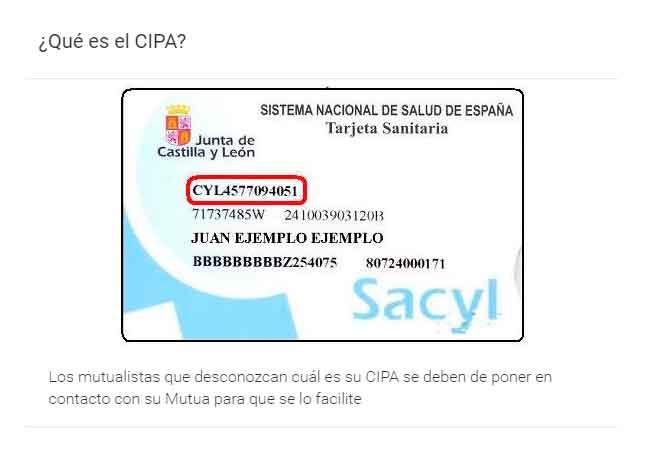 Ejemplo código CIPA