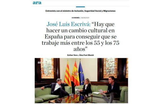 Entrevista José Luis Escrivá