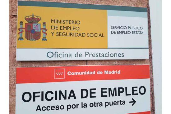 Oficina de prestaciones en la Comunidad de Madrid