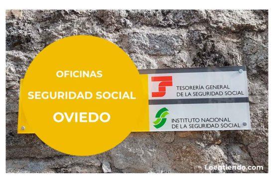 Oficinas de la Seguridad Social en OVIEDO
