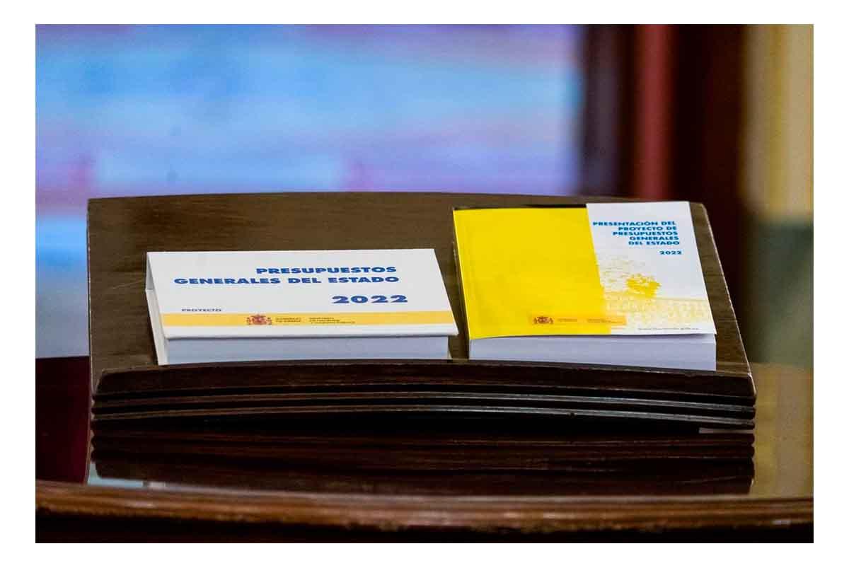 Proyecto de Presupuestos Generales del Estado para 2022