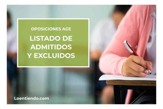 Admitidos y excluidos AGE