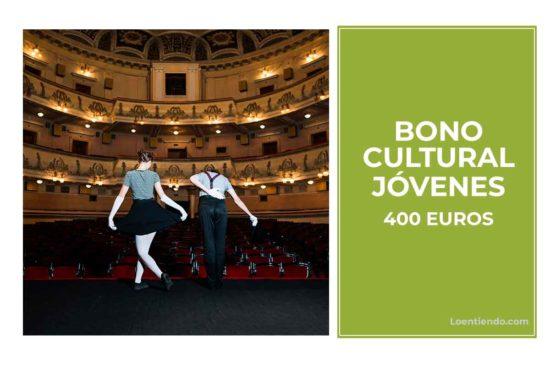 Bono cultural para jóvenes
