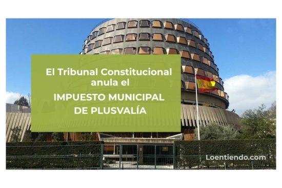 TC anula impuesto municipal de plusvalía